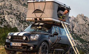 Mini Thinks its Cars are Ideal for Camping