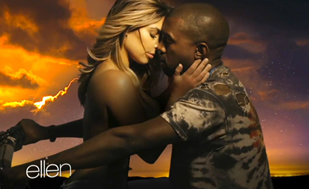 Kim Kardashian Goes Topless in Kanye West's 'Bound 2′ Video