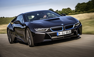 This Test Driver Just Wrecked A £200,000 BMW i8 Prototype