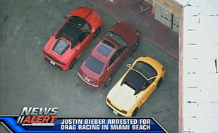 Justin Bieber Was Just Arrested For Drag Racing A Rented Lambo While Drunk