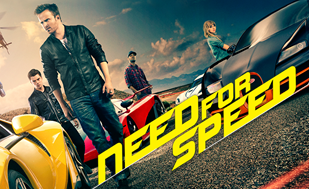 Only 2 days left to win 4 of 250 tickets to Need for Speed movie on March 28!