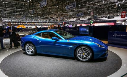 Top 5 supercars of the 2014 Geneva motor show