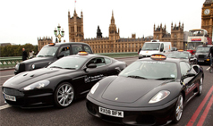 4 Speedy Supercar Taxis