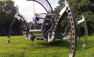 Meet the Robotic Mantis Hexapod