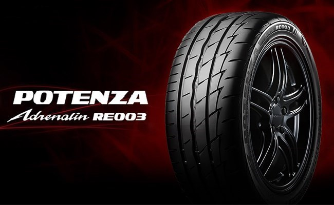 Potenza Adrenalin RE003 has Raised the Bar Even Higher for Sports Performance Tyres.