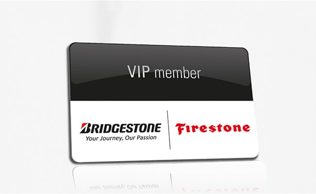 Buy a set of Bridgestone Tires and get your VIP service