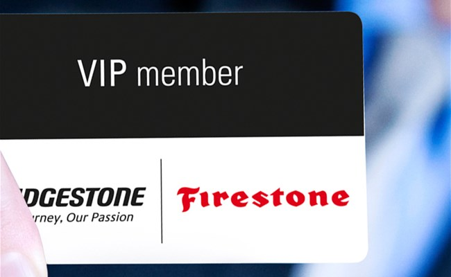 Check out the benefits of Bridgestone's VIP Card