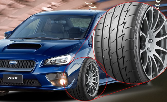 Now... Aggressive Performance is Affordable with Bridgestone