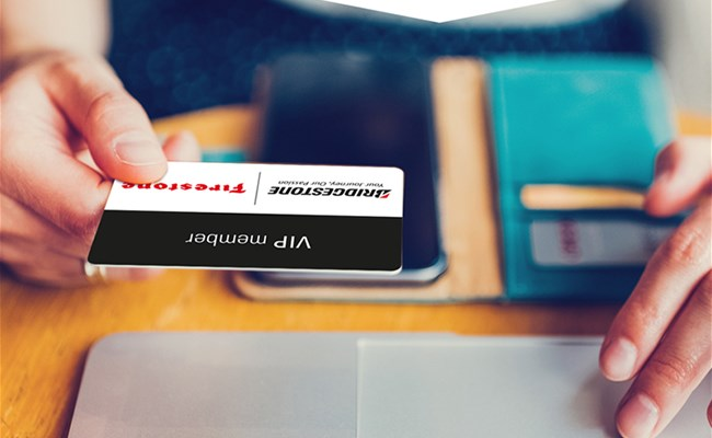 Benefit from Bridgestone's Services with Your VIP Card
