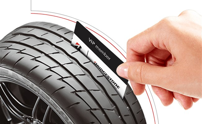 You are VIP? Participate in Bridgestone's Competition!