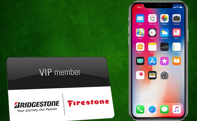 Benefit from the VIP services and win an iPhone X