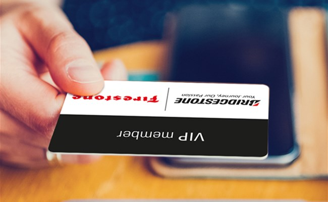Get your VIP card and win an iPhone X with Bridgestone