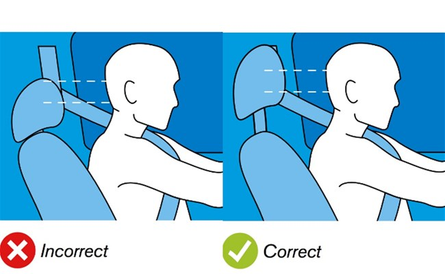 Prevent Crash Injuries by Adjusting Your Head Restraint... Know More