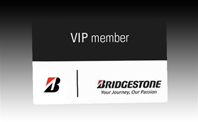 Be a VIP Member and Benefit From Bridgestone's FREE Services