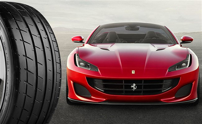 Ferrari chooses Bridgestone Potenza S007 runflat for Portofino convertible