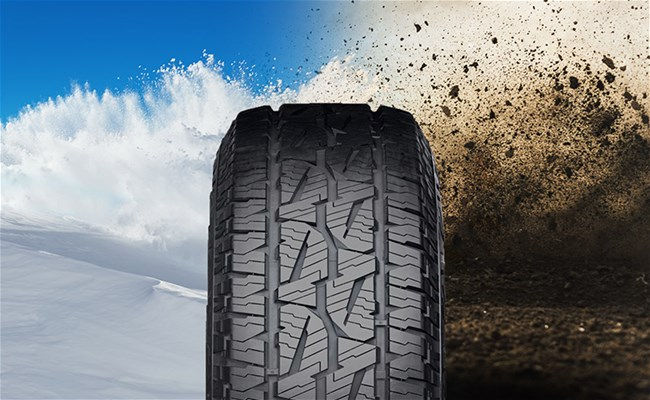 Bridgestone Dueler A/T 001: All-season performance