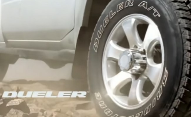 Dueler by Bridgestone: Tough enough to bring you back!