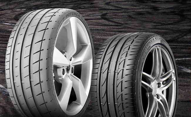 Potenza: Performance tires engineered for extreme grip