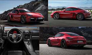 The New Porsche Cayman GTS the most powerful ever Cayman to grace the streets.