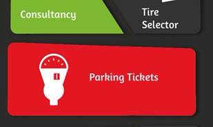 Bridgestone Adds a New Feature to its Mobile App: Parking tickets check!