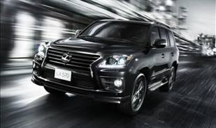 Lexus launches supercharged LX 570 in the Middle East
