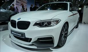 BMW brings to the 2014 Paris Motor Show the BMW M235i M Performance Parts.