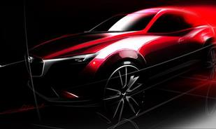 The Mazda CX-3 will be introduced at the Los Angeles Auto Show