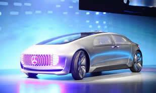 Mercedes-Benz unveils connected, self-driving concept car
