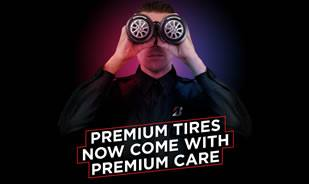 Become a VIP customer and get insurance for your tires!
