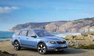 Skoda Octavia Scout Comes with a Powerful Off-Road Look