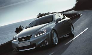Lexus IS Features Progressive Styling with Enhanced Handling