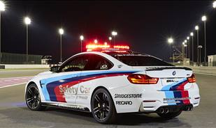 Bridgestone the Official Tire Supplier to the BMW MotoGP™ Safety Vehicles in 2015