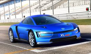 The Volkswagen XL Sport Combines Efficiency and Emotion