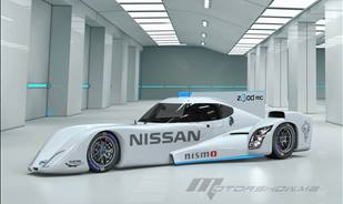 Nissan Zeod RC Leads Electric Cars to Racetracks