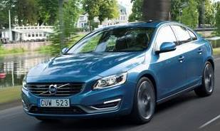 The Volvo S60, typically Scandinavian with a stylish Interior
