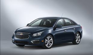 The 2015 Cruze, comfortable and practical !