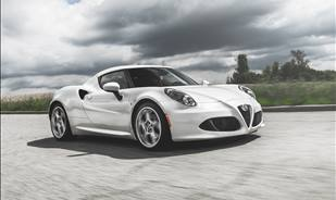 Alfa Romeo 4C, a mid-engine Italian exotic coupe