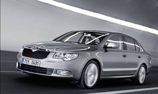 The flagship of the Skoda range