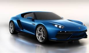 The 2015 Lamborghini  Asterion LPI 910-4, the first gasoline-electric hybrid Lamborghini