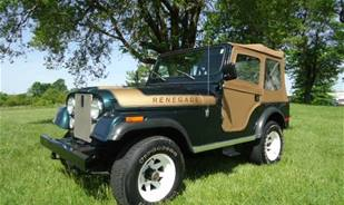 The 1976 Jeep CJ-5, a piece from history