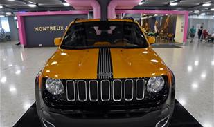 A Jeep inspired by a Guitar, do you like the look? check the pictures