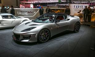 Lotus Lovers, check the 2016 Evora 400 coupe