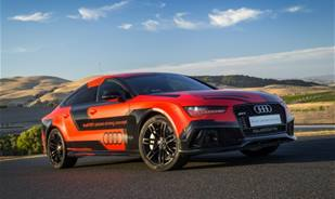 Ever heard of a self racing car? Watch Robby, a 2016 Audi RS7