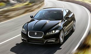 This is the Jaguar XF R Sport Black, you can't miss the specs