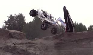 Awesome off road hill climb