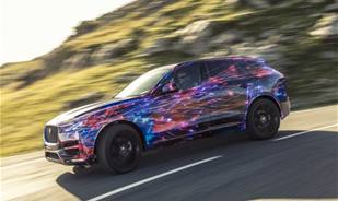 The new F-Pace crossover is here