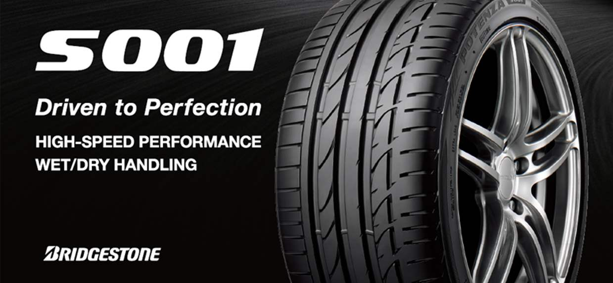 Potenza S001 | Ultra High Performance Sports Car Tires
