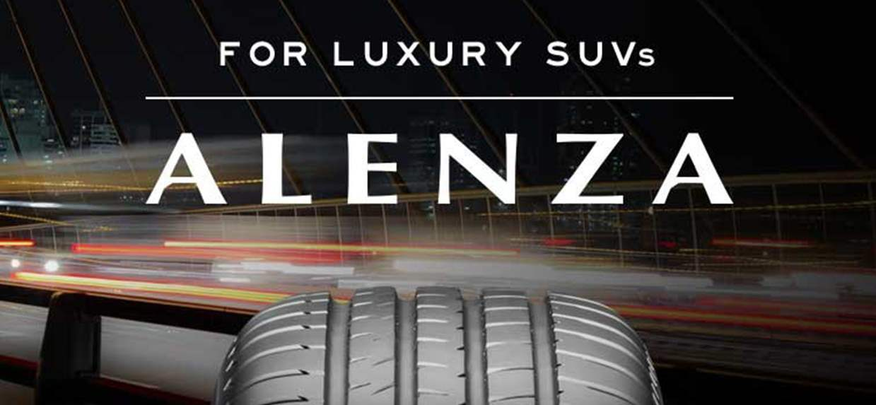 ALENZA 001: Excellent Steering Performance for Premium SUV